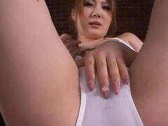 Momoka Nishina busty and oiled is fucked