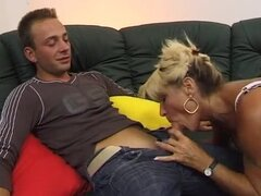 Lusty german squirter moans so loud during the penetration