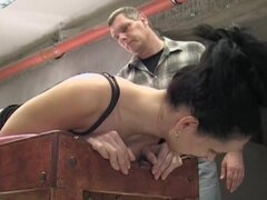 Her pain is real in a caning video