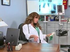 Hot Doctor Aleksa Nicole Giving a Deepthroat Blowjob...