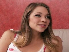Cute teen Jessie Andrews is seduced and fucked by her boss