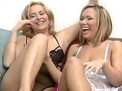 Toying Babes Get Joined By Cocks in Group Sex Orgy