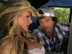 Hot Outdoors Sex With Phoenix Marie On The Back Of an Old Truck