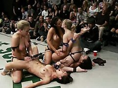 5 girl brutal fuck fest in front of the live audienceIsis love joins the winners, this is EPIC.