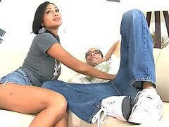 Priya gets a cumshot to her mouth after a great fuck