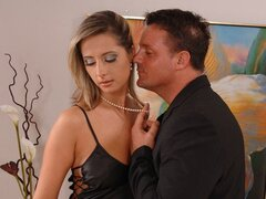 Daria has brought one of the new partners to her house as she wants to try his hammer in her haven