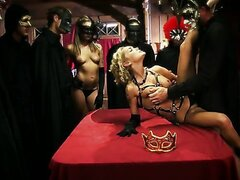 Epic and voluptuous blonde Devon gets banged at mystical orgy