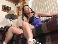 Busty women explore the fun of bondage