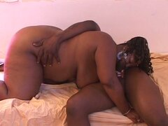 Big black boner loves fat cunt