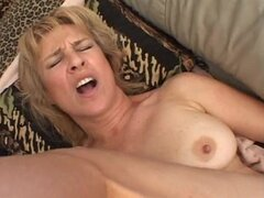 Dirty Old Milf Gets Cocked.