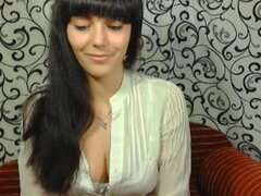 cute russian girl srip show