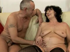 Helena May gets her meaty pussy fingered and fucked hard