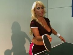 Holly Halston Loses The Ping Pong So She Must Give Up Her Holes