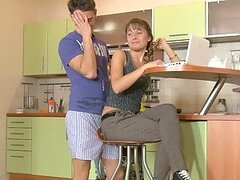 Salacious girl Jessy fucks her BF and gets a creampie