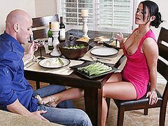 Today is a very special day for Savannah. She is gonna propose to Johnny after dinner. Johnny has no idea what she is into until she shows him the ring... a cock ring! It runs out she just wants to marry his big cock and fuck happily ever after...