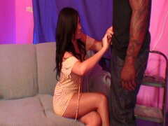 Taisa banx banged by a big black dick