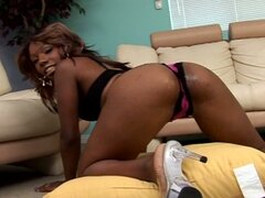 Hot black girl from the hood fucked