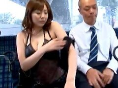 Busty Japanese slut Yuma Asami...