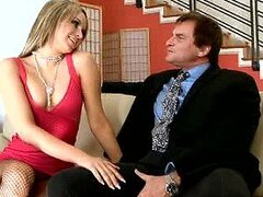 Horny Slut Aleska Diamond Fucking An Old Man's Big Cock