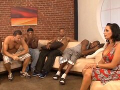 Duck duck goose is how Vannah Sterling decides which black prick to fuck