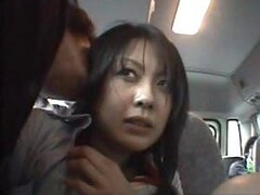 Naughty Asian Chick Gets Her Pussy Fingered In The Bus