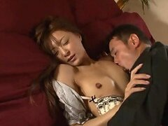 Tiny Tittied Asian Sucks Cock and Gets Her Pussy Licked and Fucked