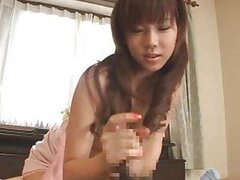 Super hot Japanese girl gives him the fuck of his life