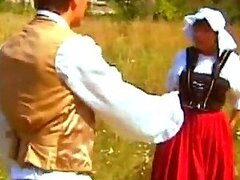 19th Century Fuck For Guy & His Maid