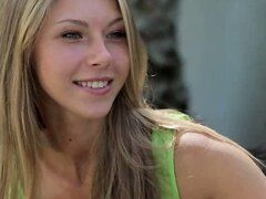 Beautiful teens gets wild passion