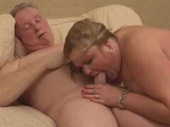 Hot British Mature BBW  is pleasing her man