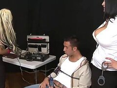 Agents Carmella Bing And Holly Halston Have A Threesome With A Large Dick