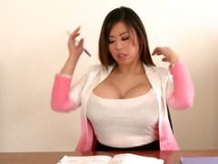 Asian Babe With 36D Melons