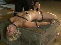 Ravishing Blonde Teen Gets Excited With BDSM Action