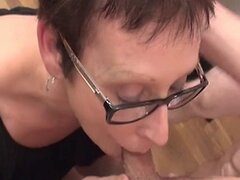 French Shorthair-Milf with Glasses - gangbanged