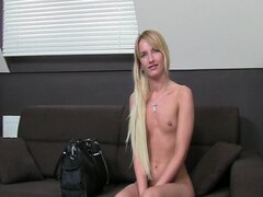 Casting HD Skinny blonde fucks in audition