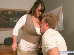Indianna Jaymes in Teacher Knows Breast