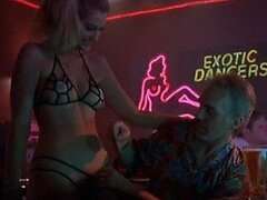 Breathtaking Babes Working Topless in a Strip Club - 'Bad Santa' Scene