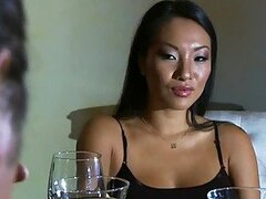 Big Cock Bangs the Slutty Asian Wife Asa Akira in Hardcore Sex Video