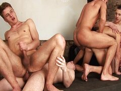 Club orgy party
