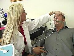 Smoking Hot Dentist Gives A Patient An Anesthesia He's Not Able To Resist