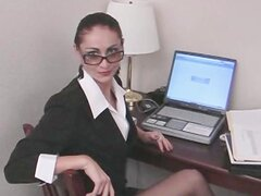 My Naughty Secretary Blows Me