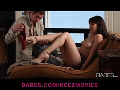 Passionate GF Dana Dearmond is taken from behind by her man