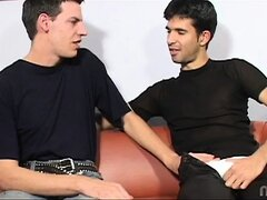 Enrique found sexy french tart Tommy on his way to choir practice! This choirboy was ready for action and took to sucking cock like a pro but the thought of a facial was lost in translation! Watch Enrique give Tommy a new kind of sloppy french kiss and le