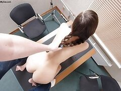Summer came into my office as a 18 year old anal 18 y.o.! She had a tight young body and I couldn't wait to penetrate that 18 y.o. ass! I slowly removed her panties and felt around a bit, I stuck a dildo slowly up her anal cavity until I felt she was good