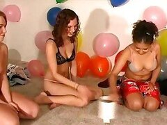 Real party amateurs take party games too far as they tease...