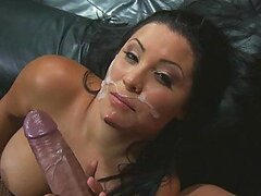 Kinky Dominant MILF Sophia Lomeli Getting Facialized After Sex