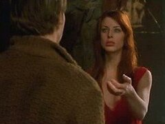 Sexy Blue Eyed Brunette Diane Neal Looking Really Hot As a Vampire