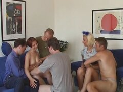 Two kinky german sluts get served hotdogs filled with jizz
