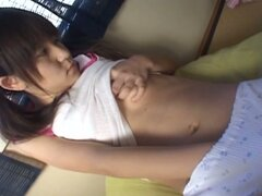 Shy but very cute japanese teen solo fresh pussy playing fun