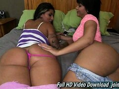 Spicy J And Rose Monroe Brunette Lesbian Natural Tits